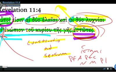 Revelation 11-4