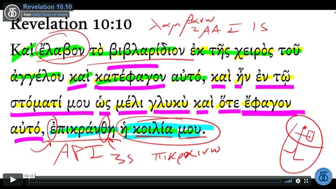 Revelation 10-10