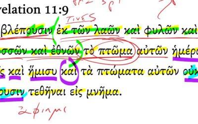 Revelation 11-9